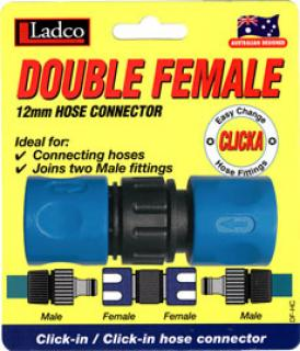 Perfect Double Female Hose Connector